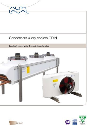 Condensers & dry coolers ODIN