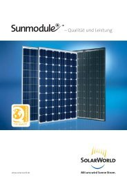 Download SOLARWORLD-Leistungsgarantie.pdf - Solar-Partner