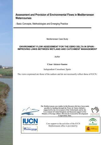 Assessment and Provision of Environmental Flows in ... - IUCN