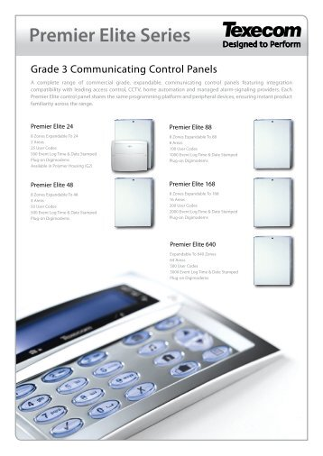 texecom premier elite 24 intruder alarm system control?quality=85 bosch ds7447v2 intruder alarm system control panels texecom premier 816 wiring diagram at mr168.co