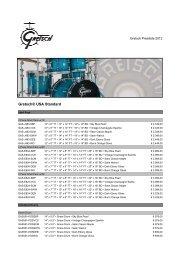 Gretsch Drums Januar 2012-2 - Drums Only