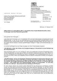 Offener Brief an die Initiative Neue Soziale ... - Ludwig Wörner