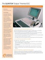 The QUinton® Eclipse™ Premier ECG - Cardiac Science