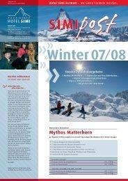 Mythos Matterhorn - Hotel Simi