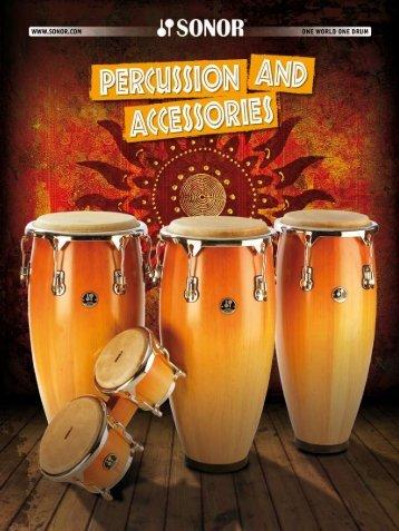 2011 sonor percussion catalog - The Sonormuseum