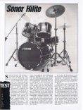 Wamm klingen Sonor Hilite Drums besser? - Page 3