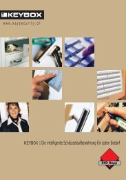 KEYBOX | Die intelligente Schlüsselaufbewahrung für ... - HSO Bopp