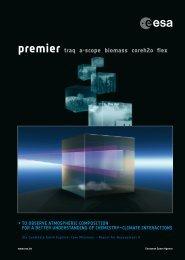 premier traq a-scope biomass coreh2o flex - Esa