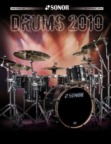 2010 Sonor Drums - The Sonormuseum