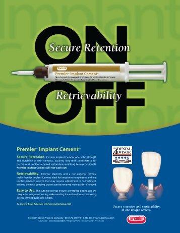 Premier® Implant Cement™ - Premier Dental