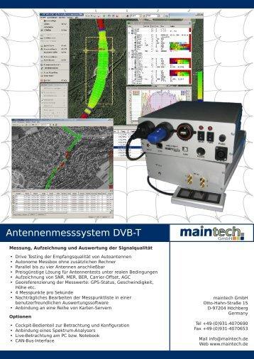 Infoblatt AMS DVB-T.pdf - Maintech.de