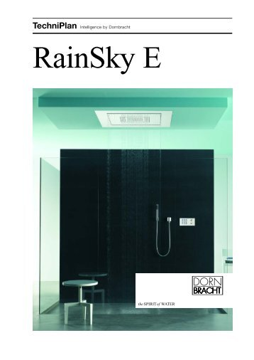 TechniPlan Intelligence By Dornbracht RainSky E - AGS, The ...