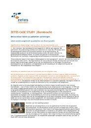 ZETES CASE STUDY |Dornbracht