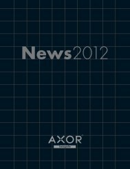 Axor News (Downloadable version) - Hansgrohe
