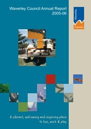 Annual Report 2005-2006 - Waverley Council