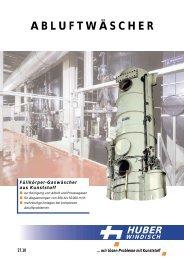 Füllkörper-Gaswäscher - Huber AG Windisch