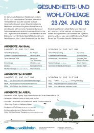 Sonntag, 24. Juni, 10-17 Uhr - Christine Husi-Ramseier