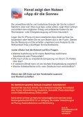«Solarthermie oder Photovoltaik? Das neue App ... - Hoval Herzog AG - Seite 2