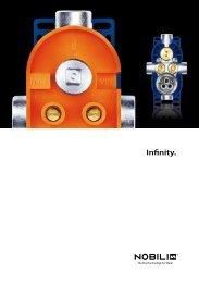scarica la brochure del depliant infinity