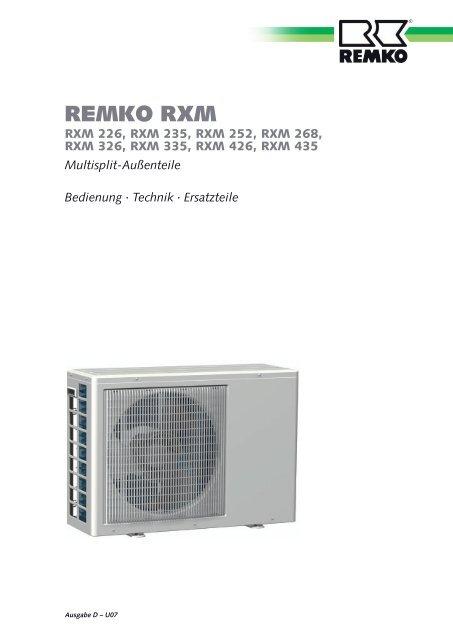 RXM226-435 D-U07 - Remko