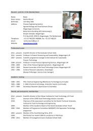Resumé – prof.dr.ir. R.M. (Remko) Boom Name: Boom Given ... - ISPT