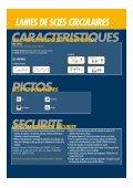 LAMES DE SCIES CIRCULAIRES - Page 3
