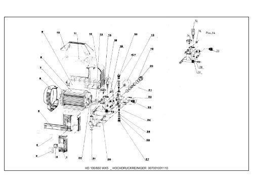 Sehr hd_100_650_wx5_hochdruckreiniger_elektrabeckum, Ersatzteile XR31