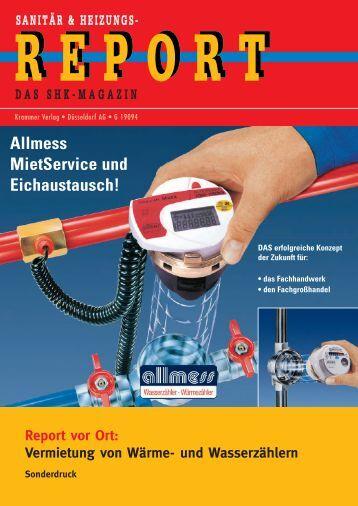 Allmess MietService und Eichautsausch - Allmess GmbH