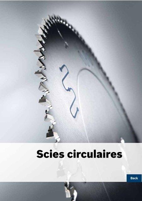 Lame de scie circulaire Optiline Wood pour scies circulaires et onglet 48 260 x 30 x 3,2 mm