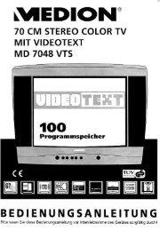 Medion MD 7048 VTS