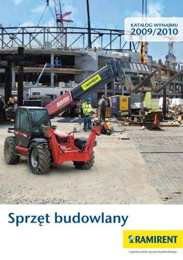 Sprzęt budowlany - Ramirent S.A.
