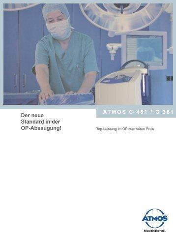 ATMOS C 451 / C 361 Der neue Standard in der OP-Absaugung!