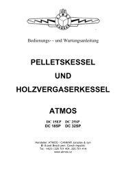 pelletskessel und holzvergaserkessel atmos - Holzkessel.net