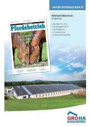 reithotel Eibenstock - Gropper Hallenbau GmbH