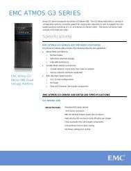 Atmos G3-Dense-480 - EMC