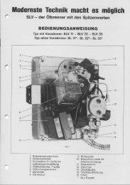 Bedienungsanleitung SLV 11 - 33 - Intercal