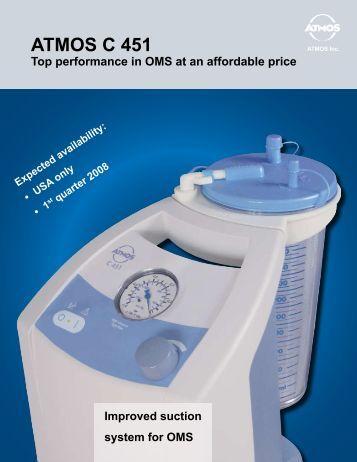 ATMOS C 451 - ATMOS Suction pumps