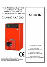 RATIOLINE - Intercal