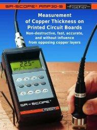 Fischer Technology USA: Measuring instrument ... - Technical Avenue