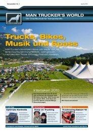 MAN Trucker's World Newsletter - Nutzfahrzeuge Lachen AG
