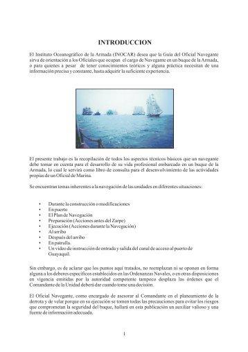Descargarla aquí - Instituto Oceanográfico de la Armada