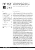 La Banca armada. InversIones expLosIvas de Los Bancos y cajas - Page 5