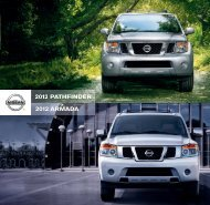 2012 armada 2012 pathfinder - Tony Graham Nissan