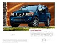 2010 Nissan Armada SUV Brochure