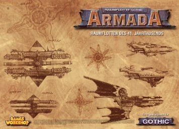 Raumflotte Gothic - Armada - Games Workshop