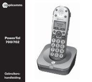 PowerTel 700/702 - Phone Master