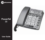 T469 Powertel 30 - Action On Hearing Loss