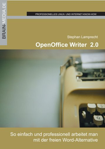 Open Office Writer 2.0 - Brain-Media.de Brain-Media.de