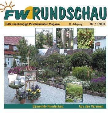 Gemeinde-Rundschau Aus den Vereinen