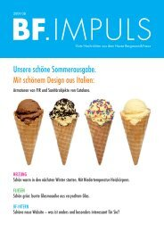 BF.Impuls 08/09 downloaden - Bergmann & Franz